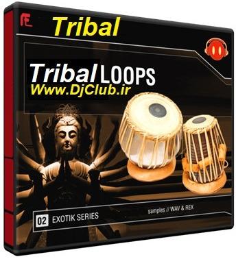 سمپل تریبال ویرچوال دی جی Tribal