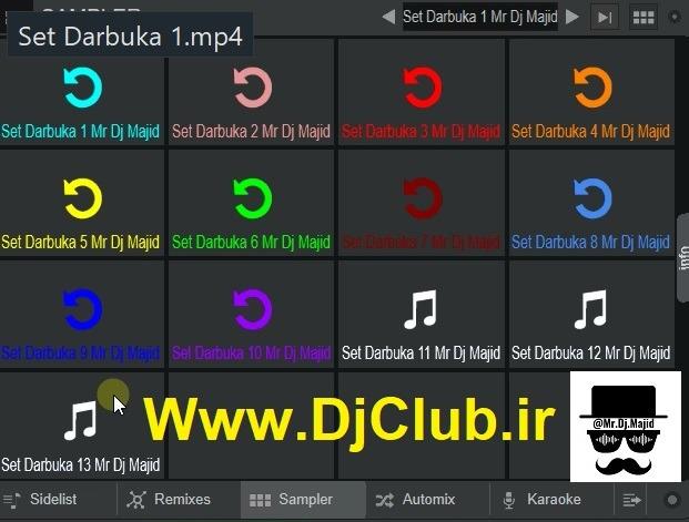 سمپل داربوکا عربی1 ویرچوال دی جی