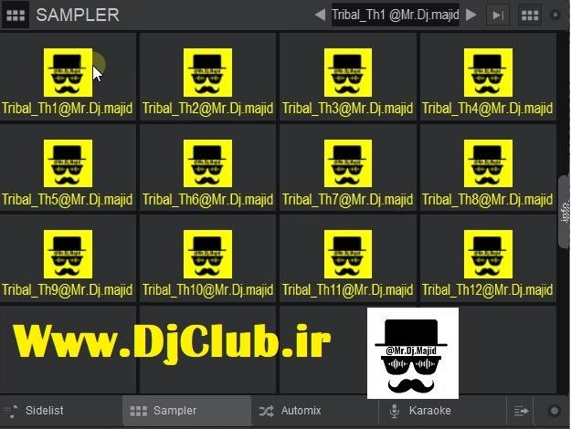 سمپل تریبال دیپ هاوس1 ویرچوال دی جی